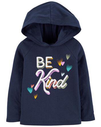 T-shirt à capuchon Be Kind