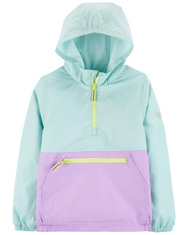 Colourblock Packable Windbreaker, , hi-res