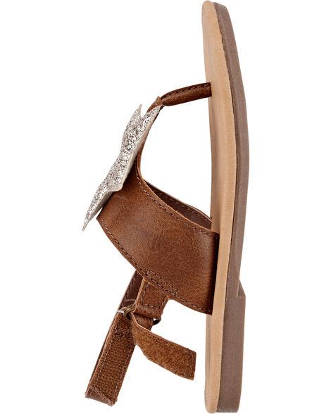 Sandales scintillantes