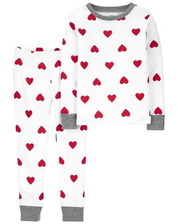 Pyjama 2 pièces en coton ajusté Sai...