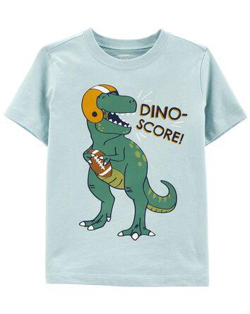 T-shirt en jersey dinosaure footbal...