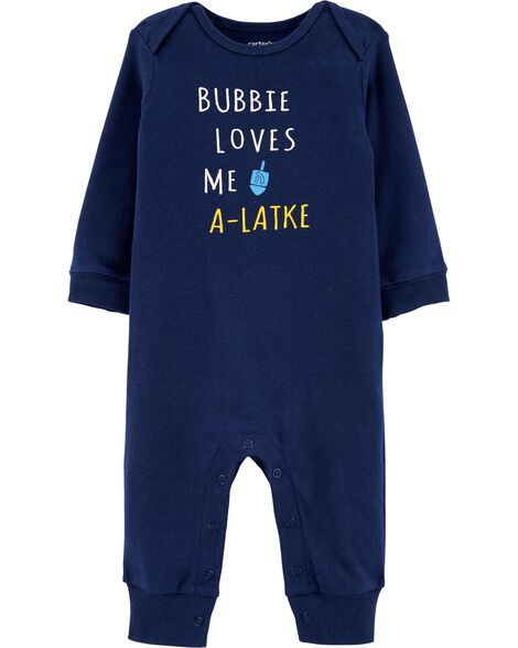 Bubbie Loves Me A-Latke Jumpsuit