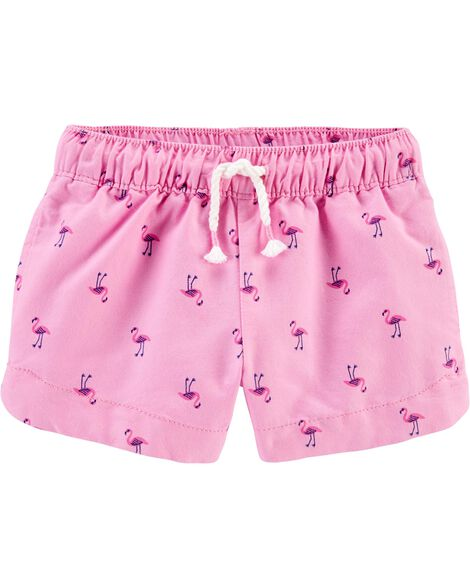Flamingo Sun Shorts
