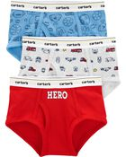 3-Pack Hero Cotton Briefs, , hi-res