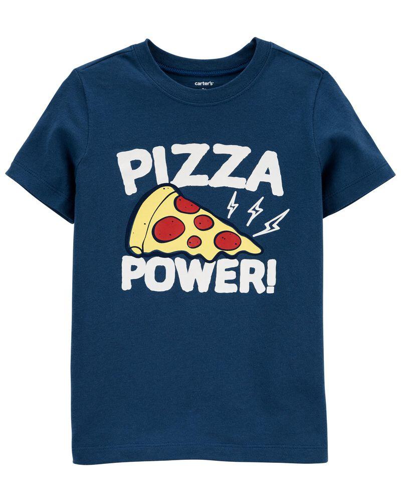 T-shirt en jersey à pizza, , hi-res