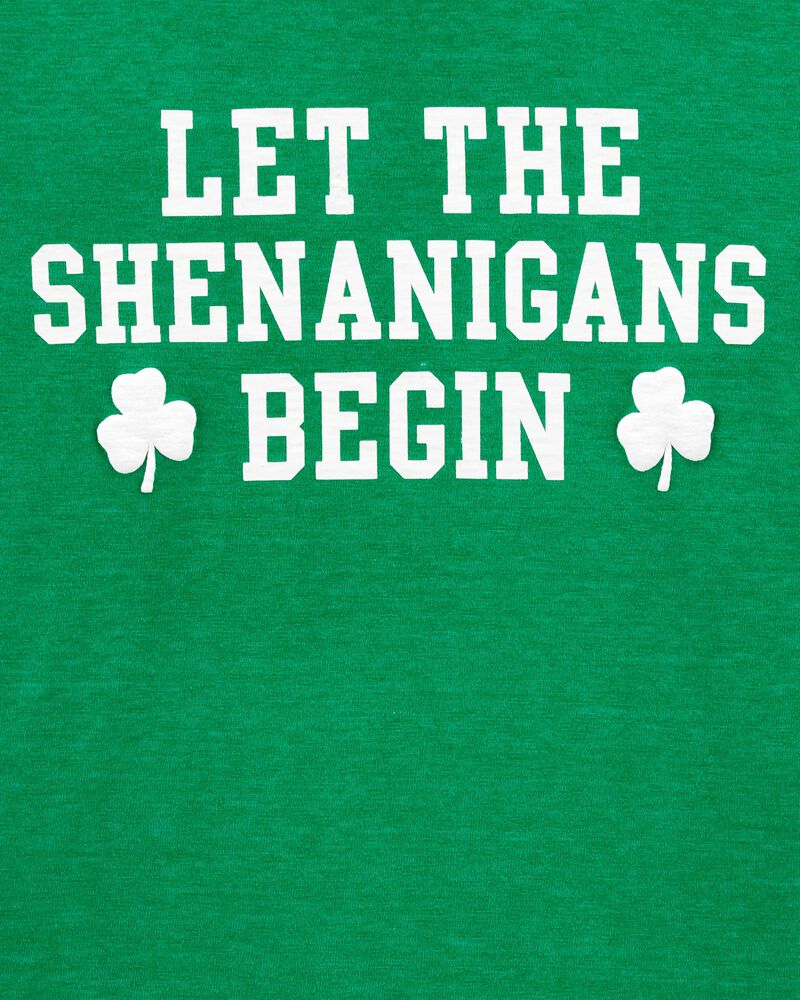 St. Patrick's Day Shenanigans Jersey Tee, , hi-res