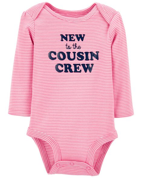 New To The Cousin Crew Bodysuit