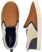 Colourblock Slip-On Shoes, , hi-res
