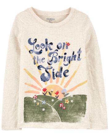 T-shirt à lever de soleil scintilla...