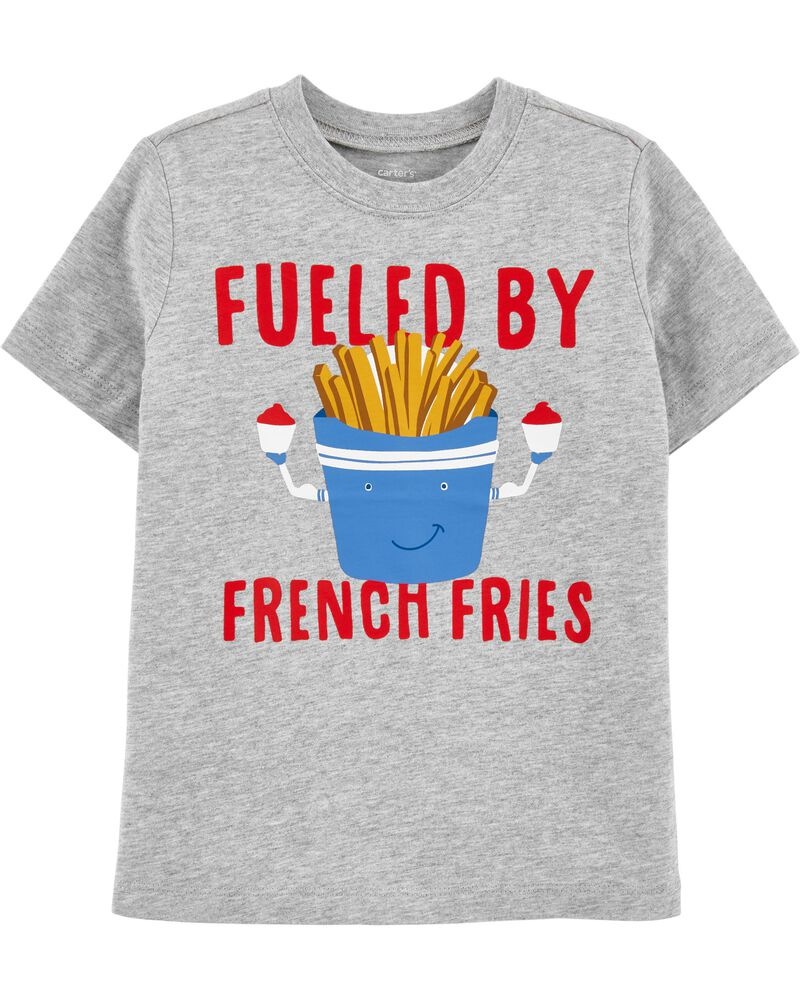 T-shirt en jersey Fueled By French Fries, , hi-res