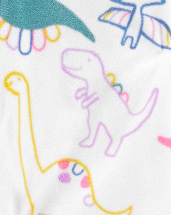 1-Piece Dinosaur Fleece Footless PJ...