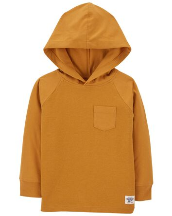 Thermal Jersey Hooded Tee