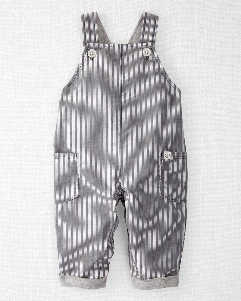 Organic Cotton Overall Jumpsuit, , hi-res