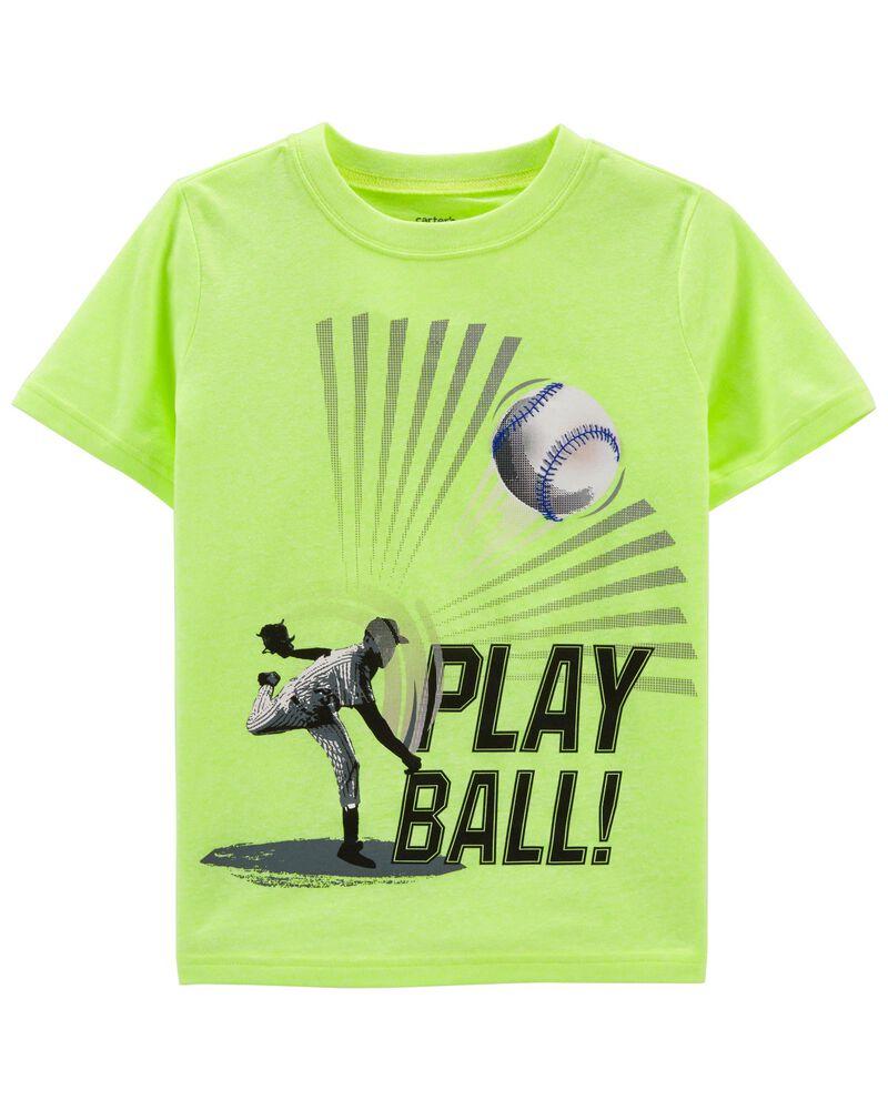 T-shirt en jersey Play Ball, , hi-res