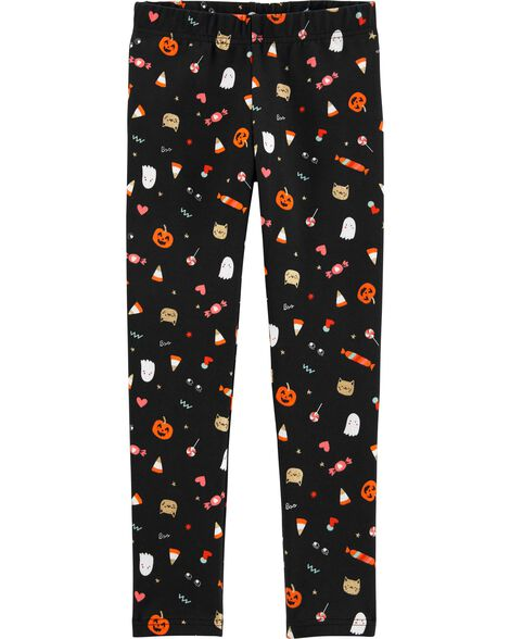 Halloween Candy Leggings