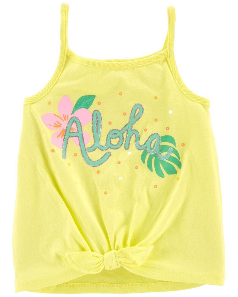 Débardeur en jersey Aloha, , hi-res