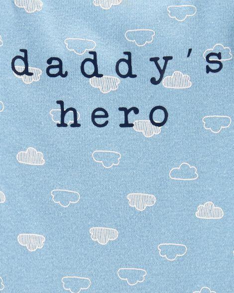 Cache-couche à slogan à collectionner super papa