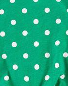 T-shirt en jersey à nœud devant et pois, , hi-res