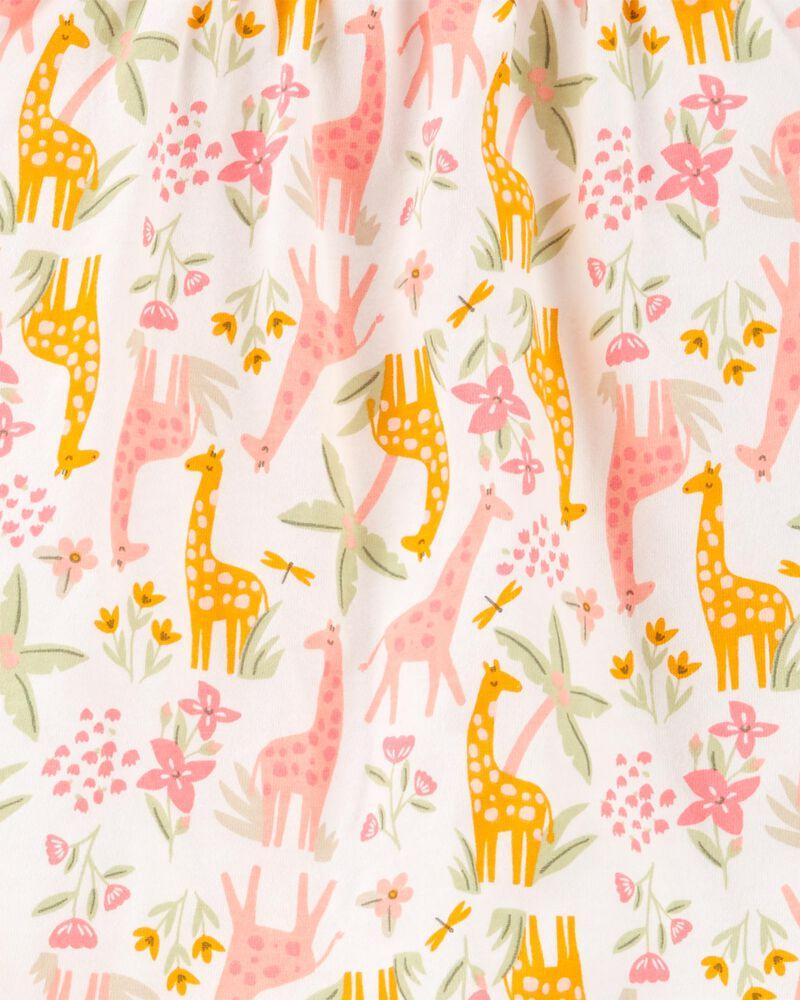 Ensemble 2 pièces haut en jersey à girafe et short, , hi-res