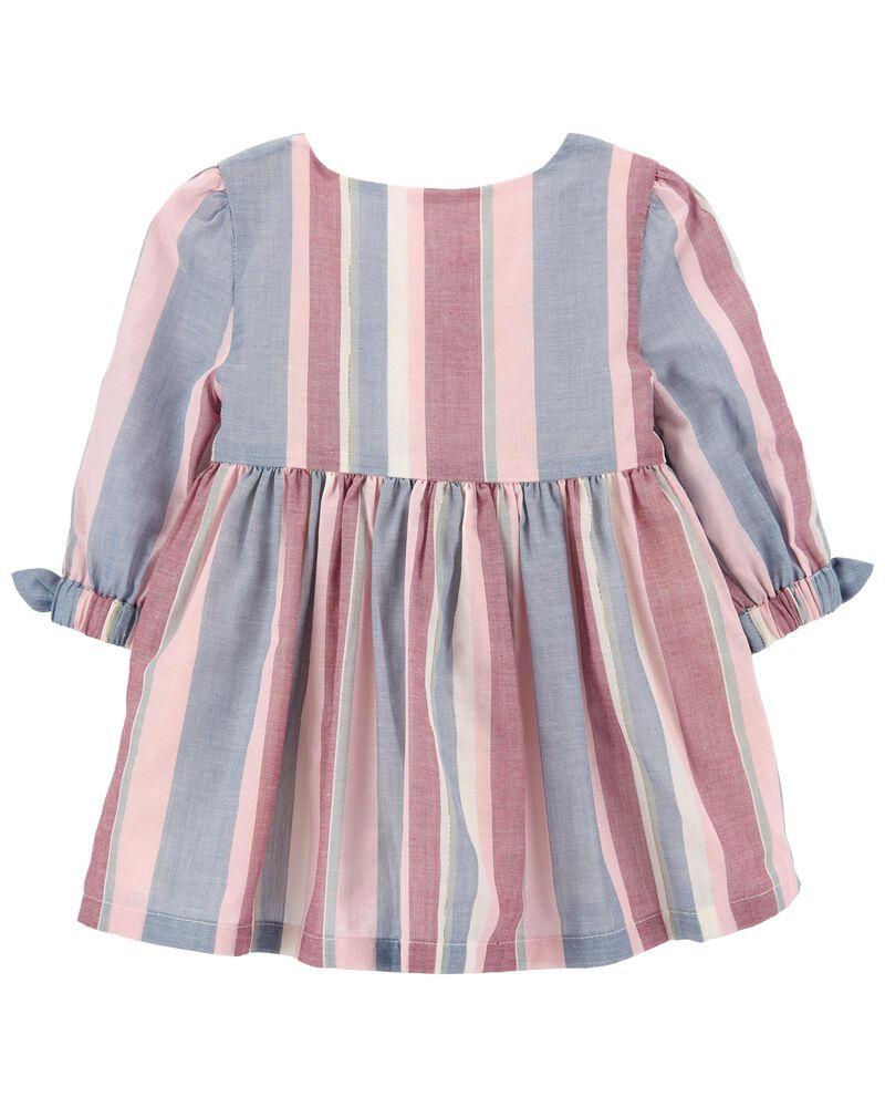 Sparkle Stripe Dress, , hi-res