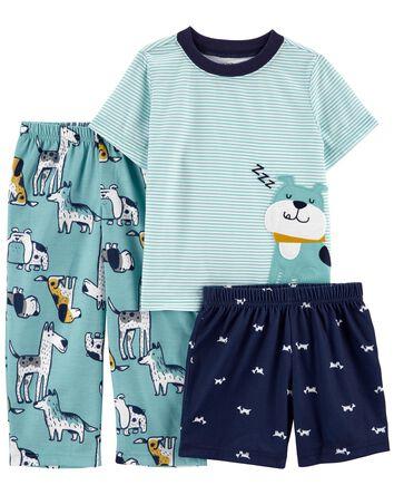 Pyjama 3 pièces de coupe ample à ch...