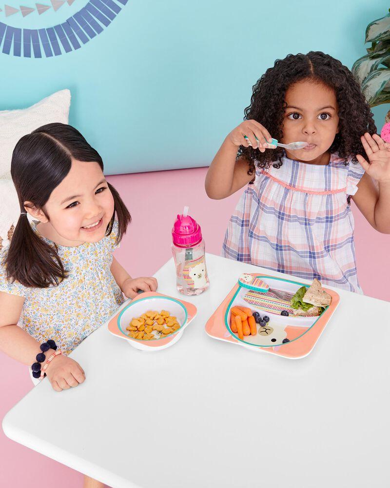 Fourchette et cuillère Zoo, , hi-res