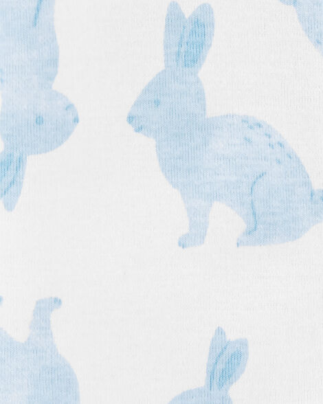 1-Piece Easter Bunny Snug Fit Cotton Footless PJs