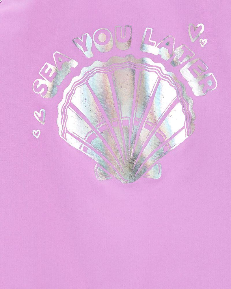 Sparkle Seashell Rashguard Set, , hi-res