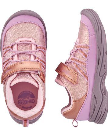 Glitter Bump Toe Sneakers