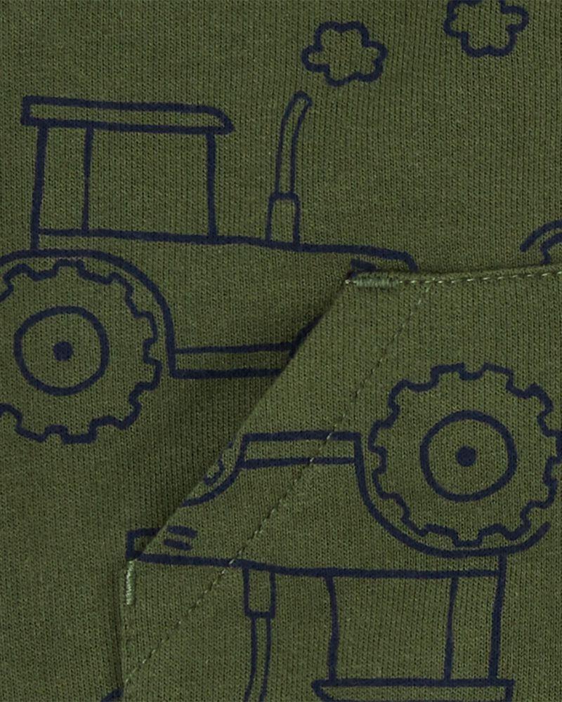 3-Piece Tractor Little Vest Set, , hi-res