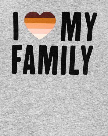 I Love My Family Bodysuit