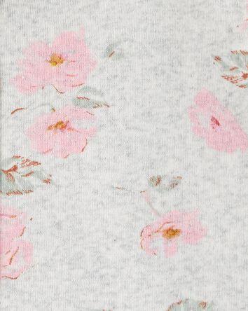 Kangourou en molleton fleuri