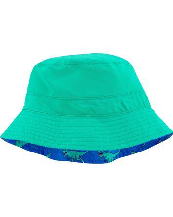 Reversible T-Rex Print Bucket Hat