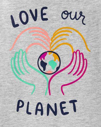 T-shirt en jersey à planète