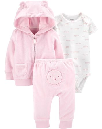 3-Piece Sun Little Jacket Set