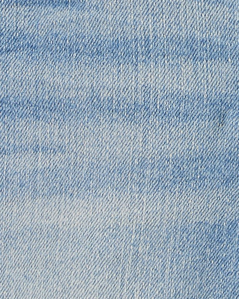 Salopette en denim extensible, , hi-res
