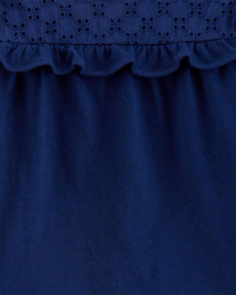 2-Piece Jersey Top & Floral Pant Set, , hi-res