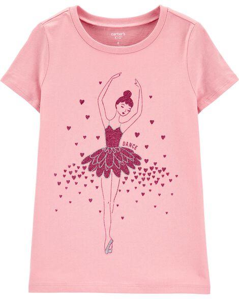 T-shirt en jersey de ballet