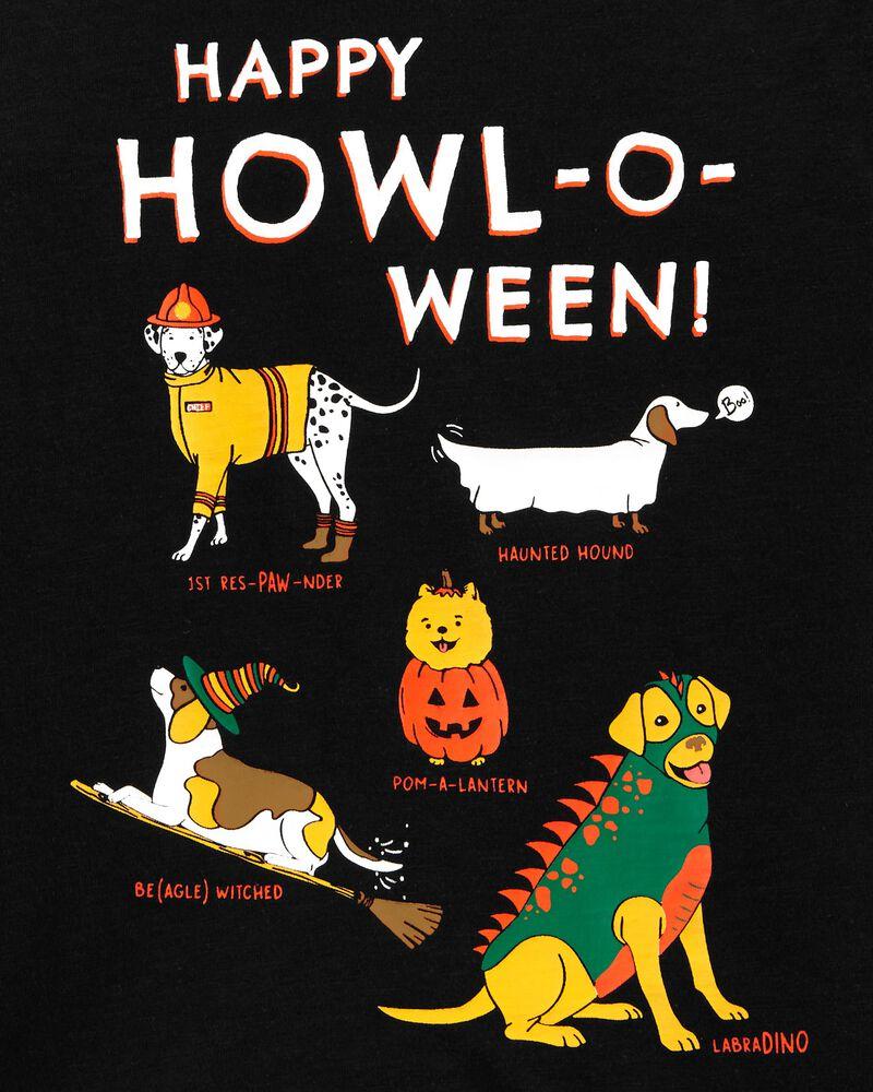 T-shirt en jersey à chien d'Halloween, , hi-res