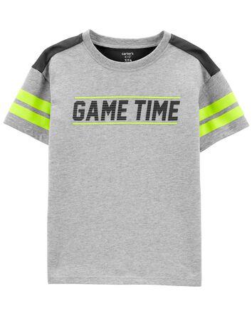 T-shirt en jersey Game Time