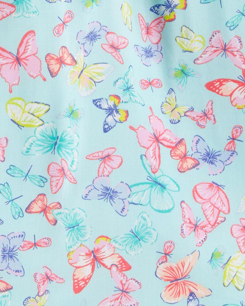 Butterfly Poplin Top, , hi-res