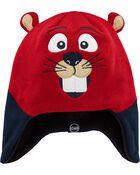Kombi Fleece-Lined Justin The Beaver Knit Hat, , hi-res