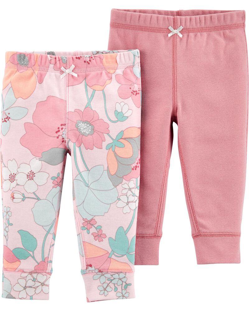 2-Pack Cotton Pants, , hi-res