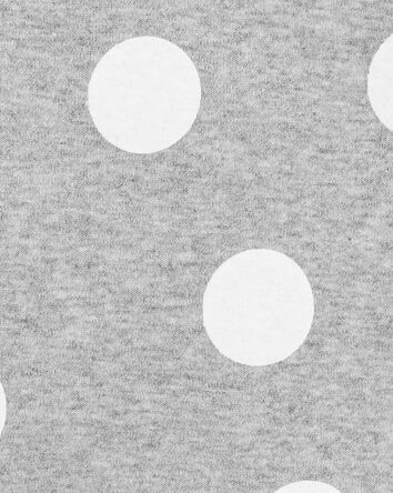2-Piece Polka Dot Bodysuit Short Se...