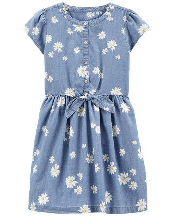 Daisy Chambray Dress
