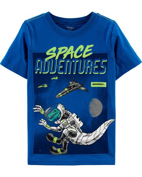 T-shirt en jersey d'aventure spatiale