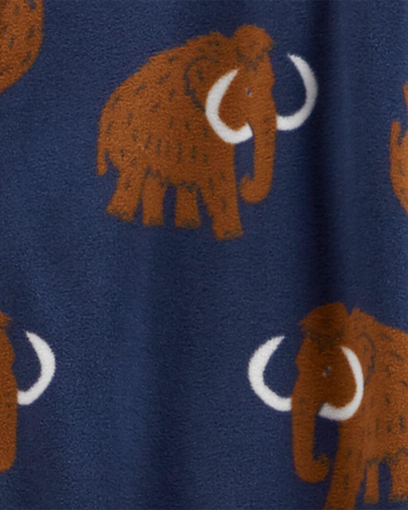 1-Piece Mammoth Fleece Footie PJs, , hi-res