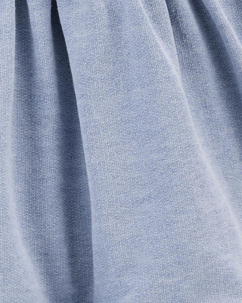 Robe chasuble en jersey bouclette, , hi-res