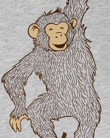 2-Piece Monkey Tee & Poplin Short S...