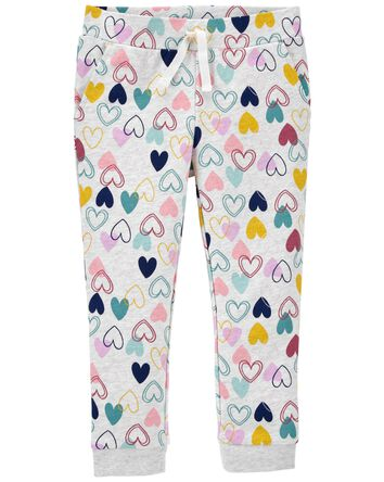 Pantalon de jogging à cœur